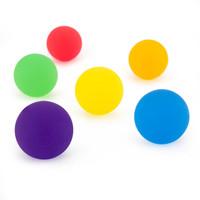 Neon Icy Bounce Balls Asst. (6)