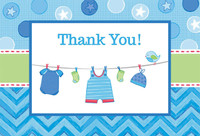Baby Shower Boy – Shower With Love Thank You Notes (8)