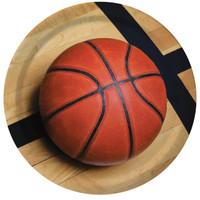 Basketball Fan Dinner Plates (8)