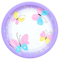 Butterfly Party Dinner Plates (8)