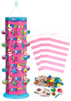 Goodie Gusher Pixie Pink Emoji Pinata Kit