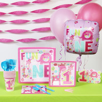 Fun at One Girl Basic Party Pack