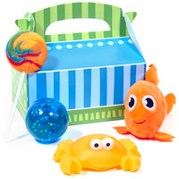 Dolphin Party Filled Favor Box (Pack of 4)
