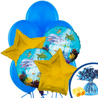 Dolphin Party Balloon Bouquet