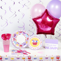 Sweet Cupcake Deluxe Party Pack