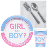 Gender Reveal Party Snack Party Pack