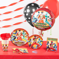 Power Rangers Basic Party Pack