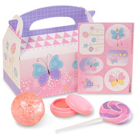 Butterfly Party Filled Favor Box (Pack of 4)