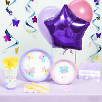 Butterfly Party Deluxe Party Pack