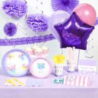 Butterfly Party Super Deluxe Party Pack
