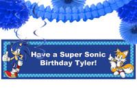Sonic the Hedgehog Decor Kit
