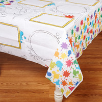 Art Party Tablecloth