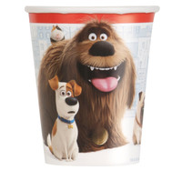 Secret Life of Pets 9oz. Paper Cups (8)
