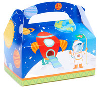 Rocket to Space Favor Boxes (Pack of 4)