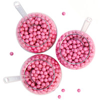 Shimmer Pink Sixlet Candy Party Pack