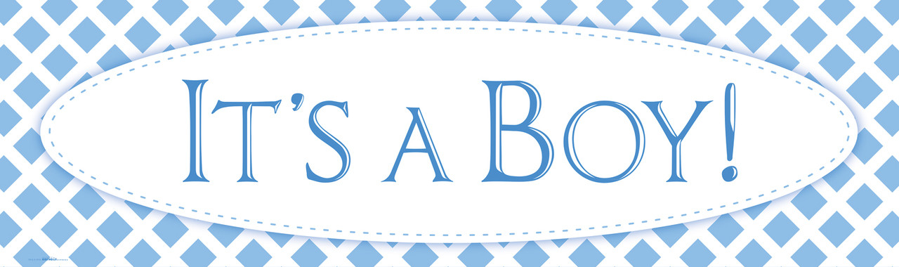 the gallery for gt congratulations its a boy banner