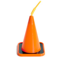 Construction Cone Molded Cup