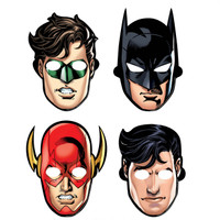 Justice League Paper Masks (8)