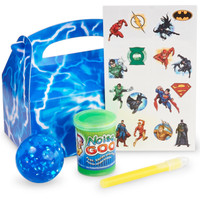 Justice League Filled Favor Box (Set of 4)