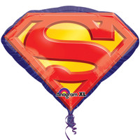 Superman Emblem Jumbo Foil Balloon