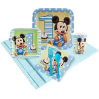 Mickey Mouse 1st Birthday Party Pack