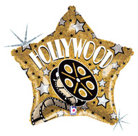 Hollywood Star Foil Balloon