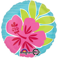 Summer Scene Flowers Foil Balloon