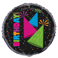Glow in the Dark Party Foil Balloon