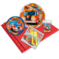 Fire Trucks Party Pack