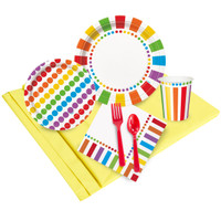 Rainbow Birthday Party Pack