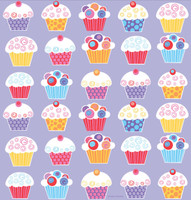 Sweet Cupcake Party Plastic Tablecover