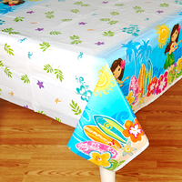 Luau Plastic Tablecover