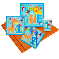 Fun at One Boy Party Pack
