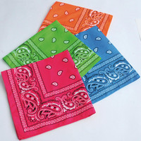 Neon Bandanas Assorted (12)