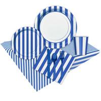 Royal Blue Stripe Event Pack