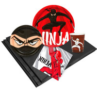Ninja Warrior Party Pack