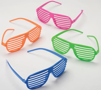 Neon Shutter Shades Assorted (12)