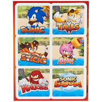Sonic Boom Sticker Sheets