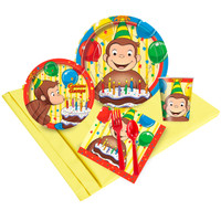 Curious George Party Pack