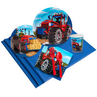 Farm Tractor Party Pack