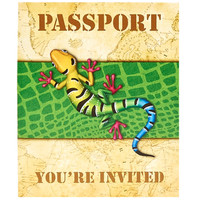 Jungle Party Invitations (8)