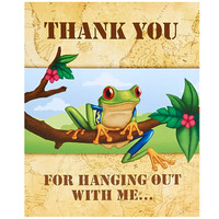 Jungle Party Thank You Notes (8)