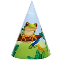 Jungle Party Cone Hats (8)