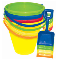 Beach Pail with Shovel Assorted