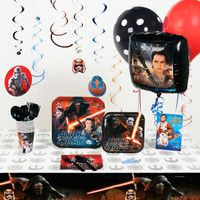 Star Wars 7 The Force Awakens Deluxe Party Pack