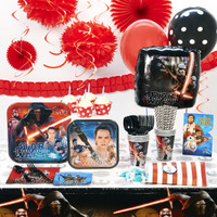 Star Wars 7 The Force Awakens Super Deluxe Party Pack