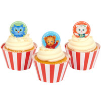 Daniel Tiger's Neighborhood Cupcake Wrapper & Pick Kit
