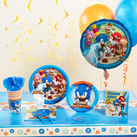 Sonic Boom Deluxe Party Pack