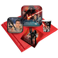 Star Wars 7 The Force Awakens Party Pack