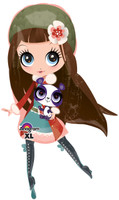 Littlest Pet Shop Girl Jumbo Foil Balloon